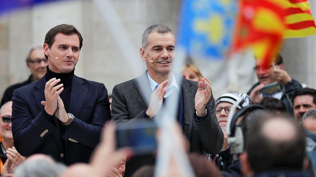 Toni Cantó, candidato a las primarias de Cs para presidir la Generalitat Valenciana