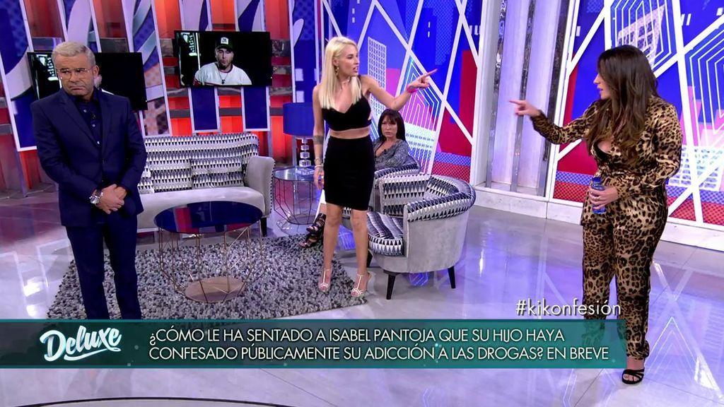 """Anabel Pantoja pierde los nervios con Techi: """"No te voy a permitir que eches barro a Kiko después de lo que le has hecho a mi prima"""""""