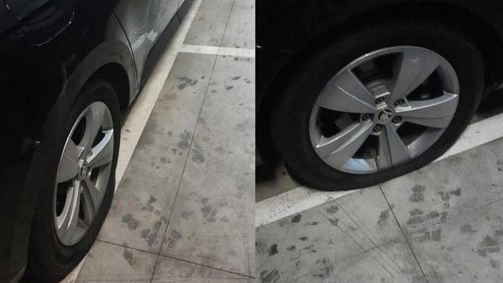 Conductores de VTC denuncian daños en sus coches en Barcelona