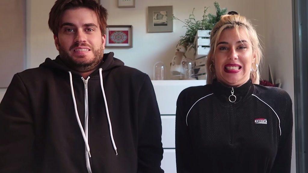 Sin brazos Challenge: Bea y Rodri estrenan el año picándose con un nuevo y divertido reto