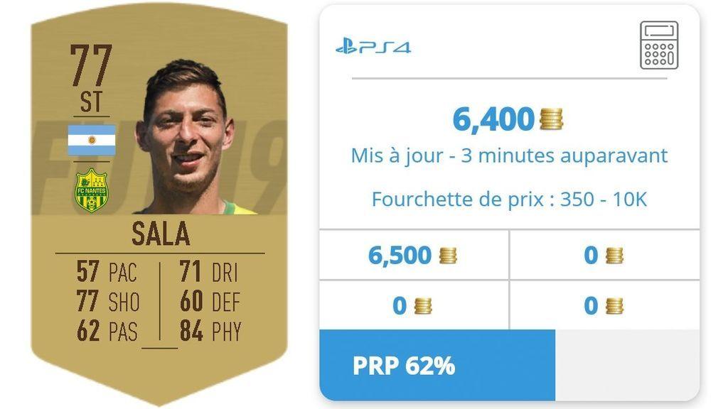 'Vergüenza gamer': intentan hacer negocio en el FIFA 19 con la desaparición del avión de Emiliano Sala