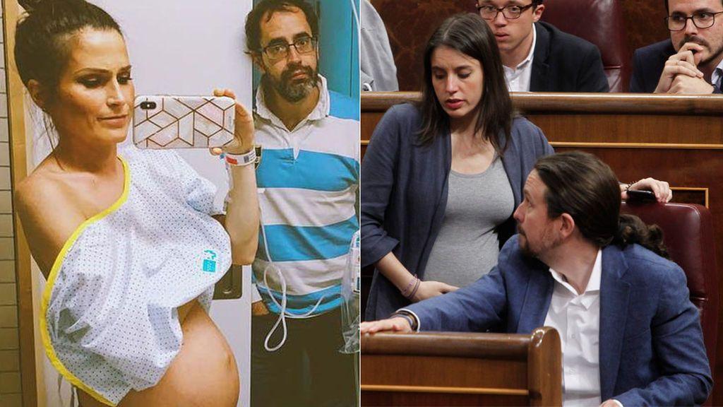 Verdeliss y su bebé, en las mismas manos que atendieron a Irene Montero y sus mellizos prematuros