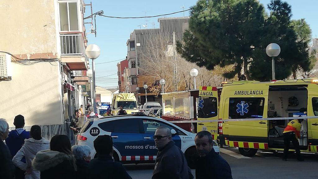 Mujer cae por balcón en Tarragona