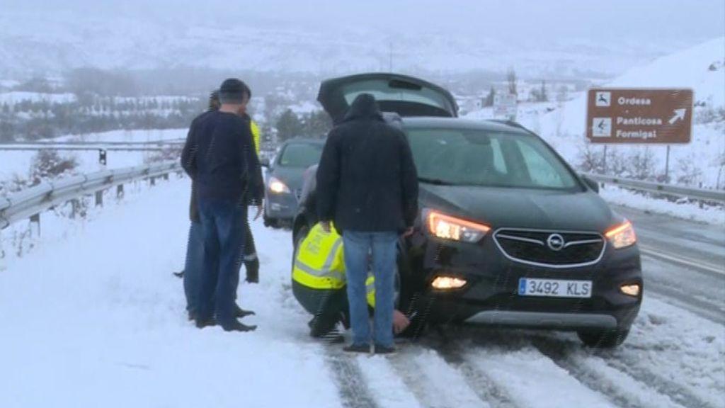 15 provincias en alerta por nieve y viento