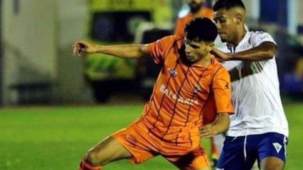 Hamza Maruja, futbolista del Ceuta, en estado crítico tras ser apuñalado el barrio ceutí de 'El Príncipe'