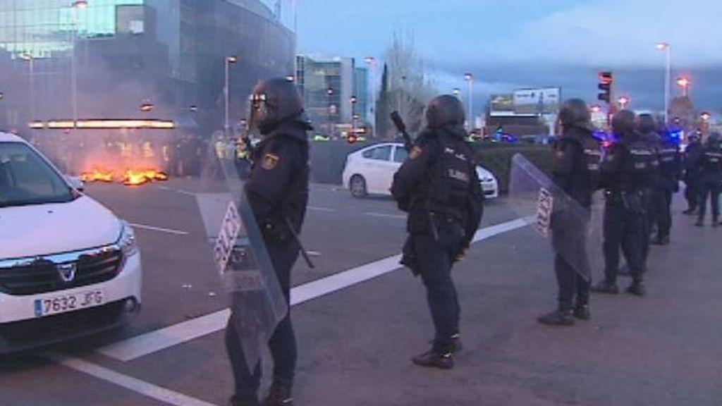 Los taxistas piden perdón a la ciudadanía al tercer día de huelga