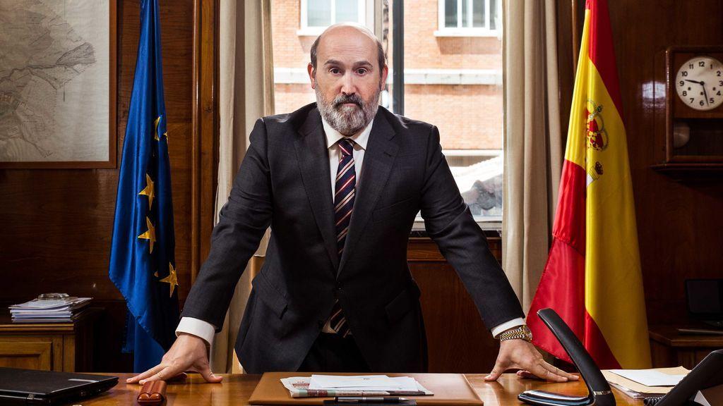 Javier Cámara es el ministro de Agricultura Juan Carrasco, en 'Vota Juan'.