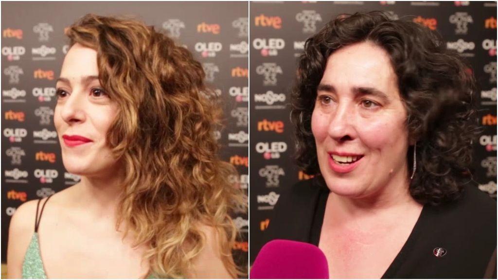 Las dificultades para hacer cine por ser mujer que han encontrado Andrea Jaurrieta y Arancha Echevarría