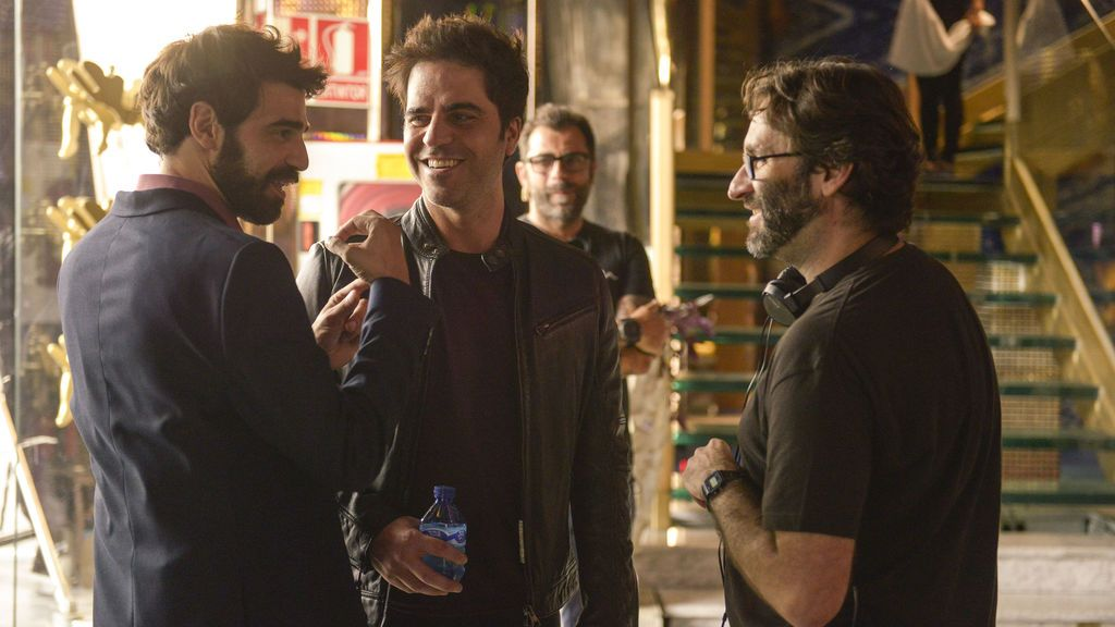 David Verdaguer, Ernesto Sevilla y Charlos Therón en 'Lo dejo cuando quiera'.