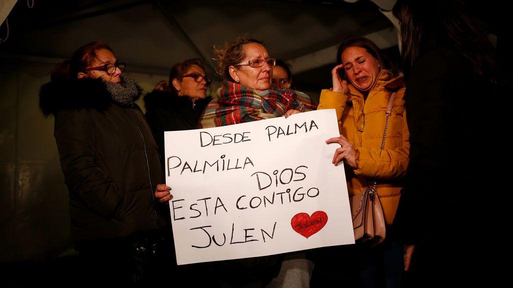 """Vigilia en Totalán: """"Julen somos todos"""""""