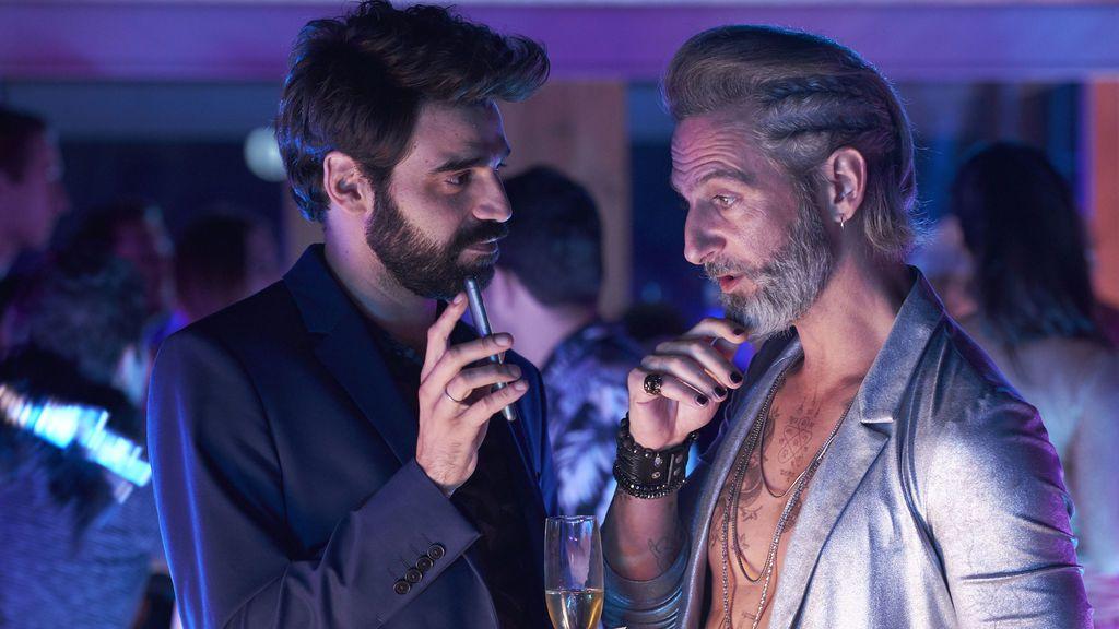 David Verdaguer y Ernesto Alterio en 'Lo dejo cuando quiera'.