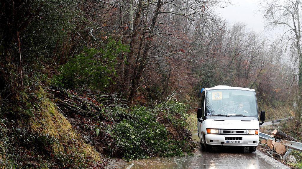 Mueren cuatro personas en Asturias a consecuencias de las intensas lluvias