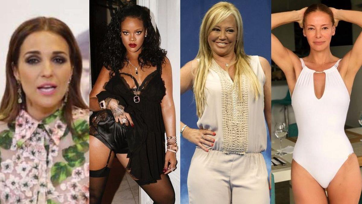 Kilos saludables: famosas encantadas con haber ganado peso