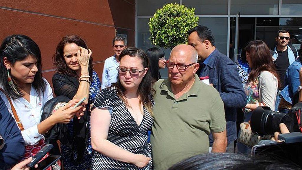 Dafne McPherson, en libertad tras pasar tres años en prisión por abortar en México