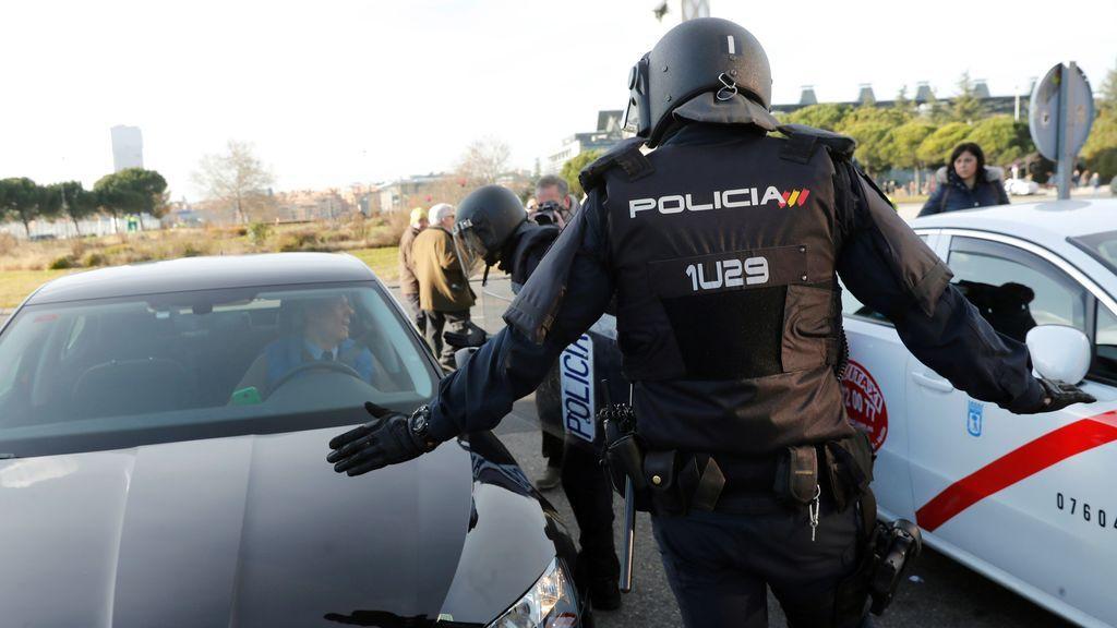 Un grupo de taxistas de Madrid inicia hoy  una huelga de hambre para reclamar la regulación de los VTC