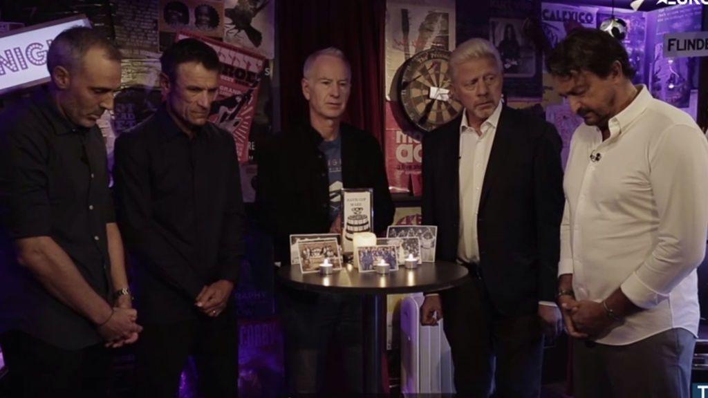 Las leyendas del tenis se reúnen para despedir la Copa Davis al compás de Guns N´Roses