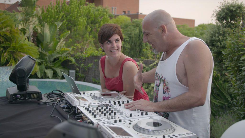 Samanta Villar y Paco Pil, en 'La vida con Samanta'.