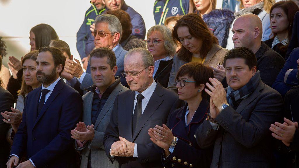 """El alcalde de Málaga destaca el ejemplo de """"solidaridad colectiva"""" en el rescate de Julen"""