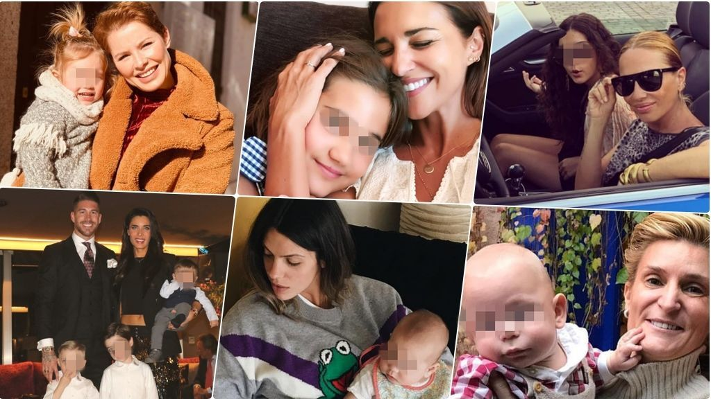 """Minivips sin píxel: Estos son los hijos de los famosos que """"dan la cara"""" en las redes de sus padres"""