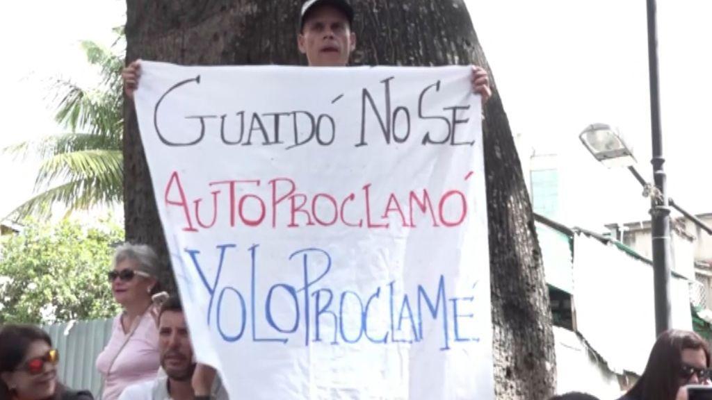 Entusiastas del cambio en Venezuela