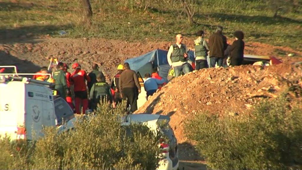 La Guardia Civil trabaja en despejar las circunstancias de la muerte del pequeño Julen