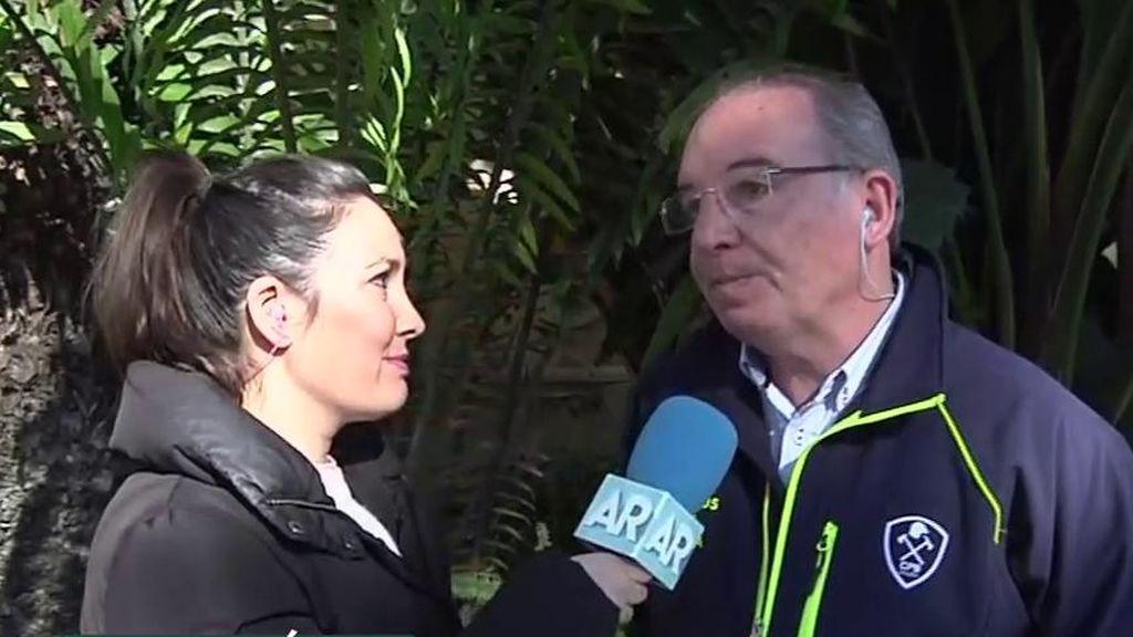 """Presidente del consorcio de bomberos de Málaga: """"Hemos trabajado a destajo y sin planificación previa"""""""