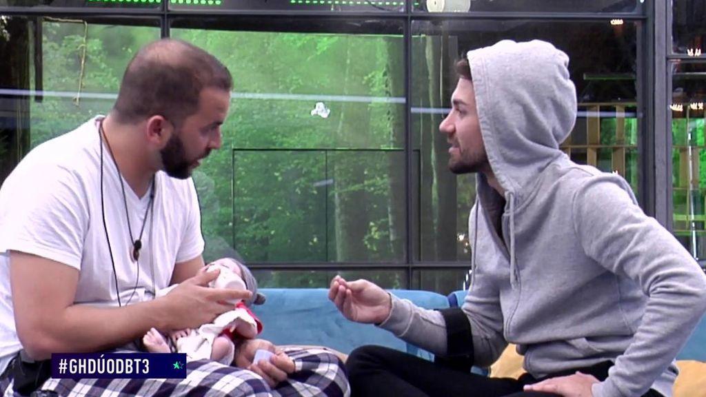 Alejandro le desvela a Antonio la estrategia de Sofía en 'GH DÚO'