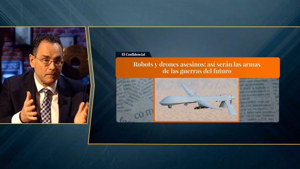 La próxima guerra se librará en el espectro electromagnético: drones bomba con GPS o IA con capacidad de supervivencia