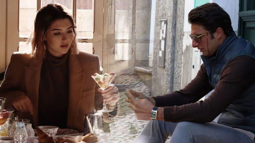 Alba Díaz y Javier Calle juegan al despiste en su escapada romántica a Lisboa