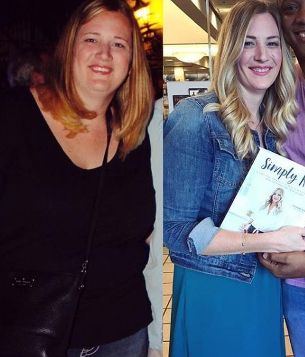 """El secreto de una madre que perdió 54 kilos: """"La autoestima tiene más que ver con tu actitud que con tu peso"""""""