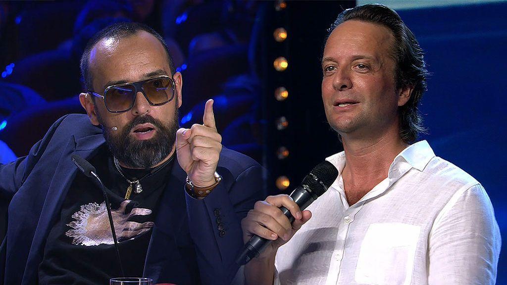 """El holandés William Janz imita a Julio Iglesias, lo clava y Risto lo sabe: """"Te quiero en mi fiesta de cumpleaños"""""""