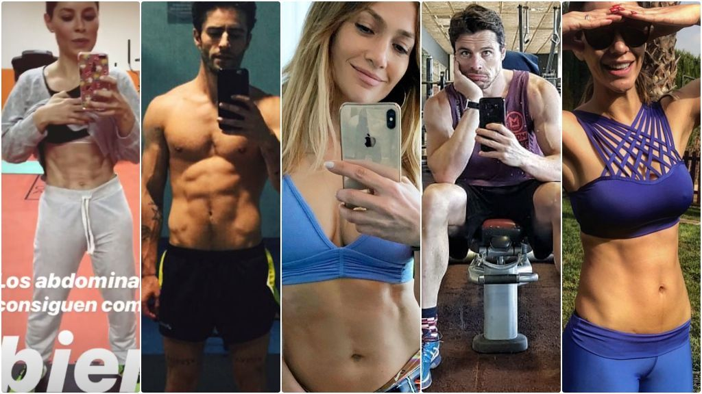 Celebridades VIP-goréxicas: famosos adictos al postureo 'fit'