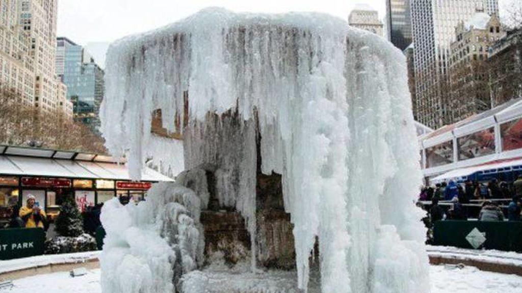 Ola de frío en Estados Unidos:  Se podrían registrar temperaturas similares a las de Siberia