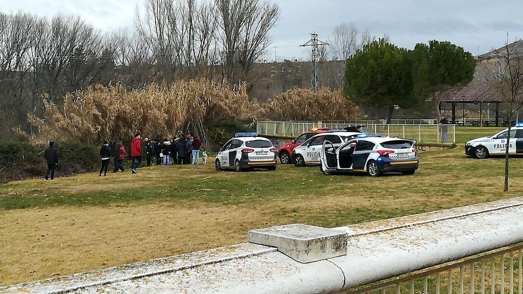 Muere un hombre de 90 años tras caer al río Ebro en Logroño