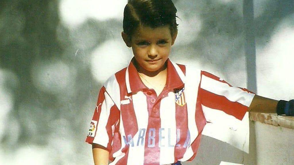 Morata sube a Instagram una foto de niño vestido del Atleti y enciende el debate antes del derbi