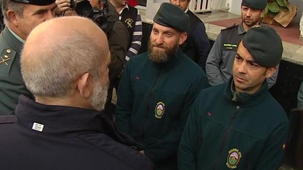 """Los tres agentes de la Guardia Civil que rescataron a Julen: """"Tenemos una sensación agridulce"""""""