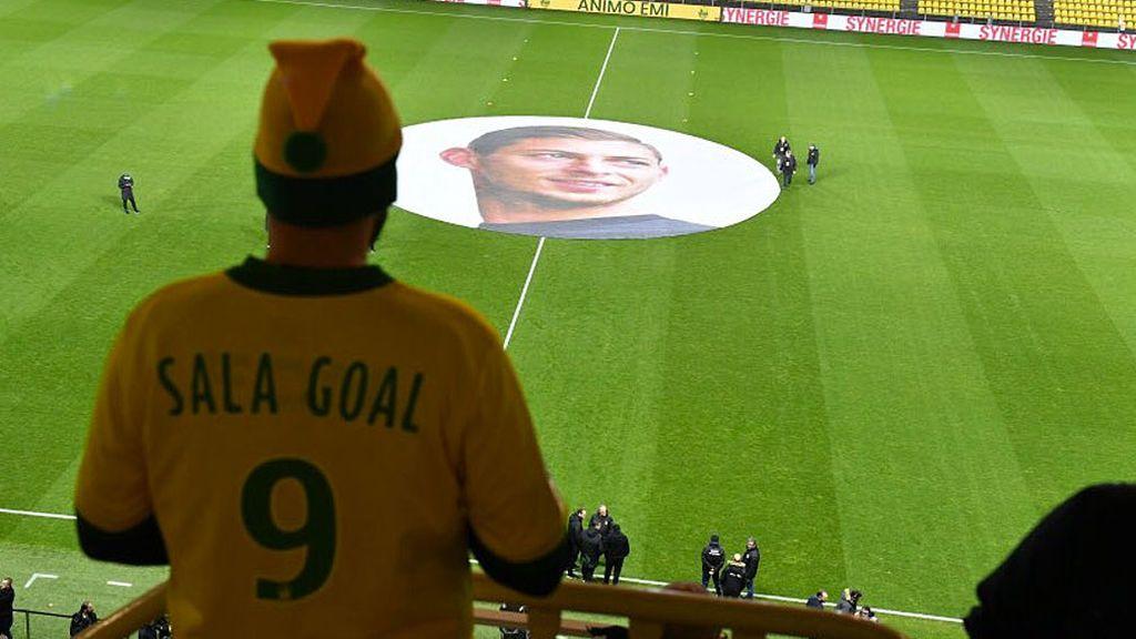 El homenaje del Nantes a Emiliano Sala en su primer partido sin el argentino