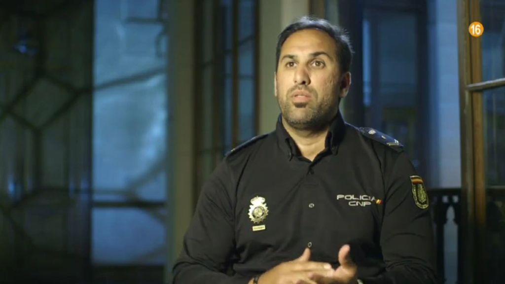 Kamal, policía de Jerez de la Frontera, en 'Héroes más allá del deber'.