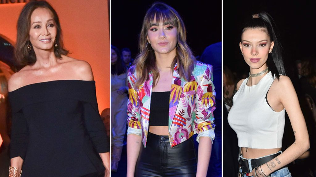 Aciertos y errores de los famosos en el frontrow de la Fashion Week Madrid