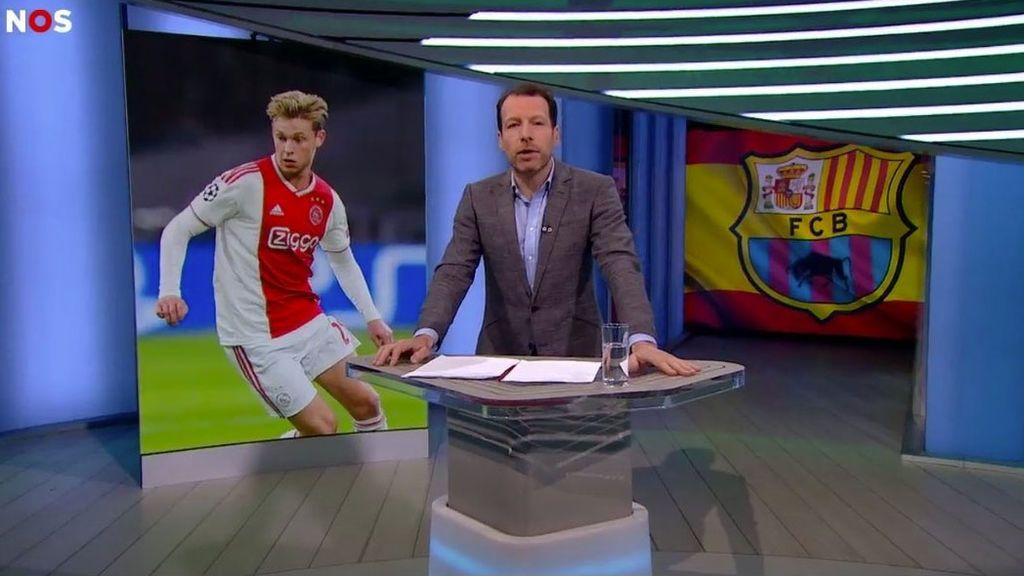 El 'nuevo escudo' del Barça según la televisión holandesa levanta ampollas entre sus aficionados