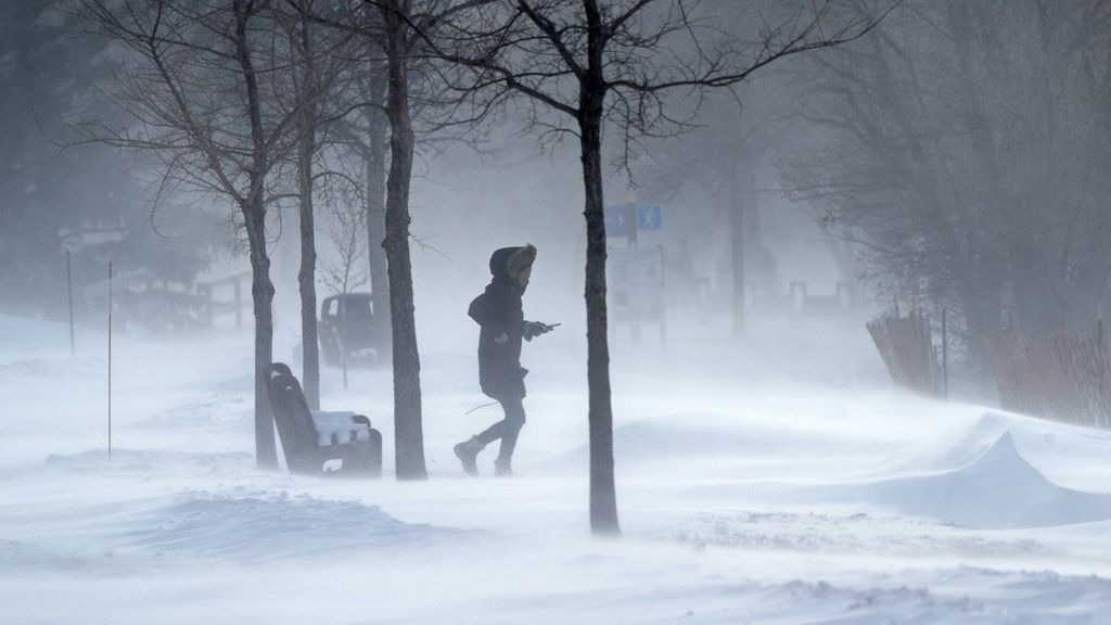La ola de frío cala hasta los huesos: así está Estados Unidos
