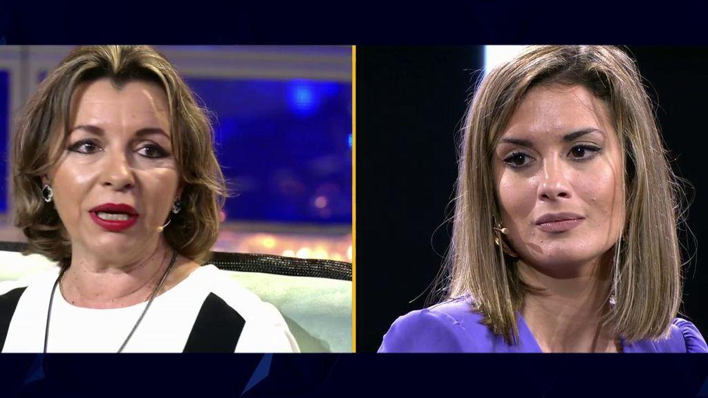 """La madre de Antonio a Candela: """"Ha sido muy doloroso ver cómo te has portado con Antonio"""""""