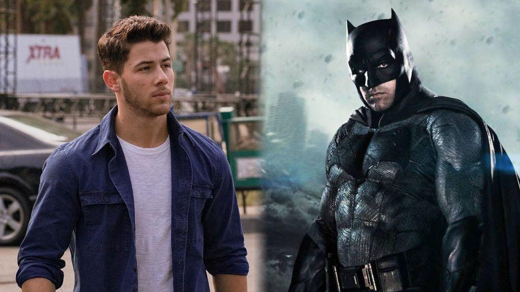 Se busca Batman: A Nick Jonas le encantaría interpretar al mítico superhéroe