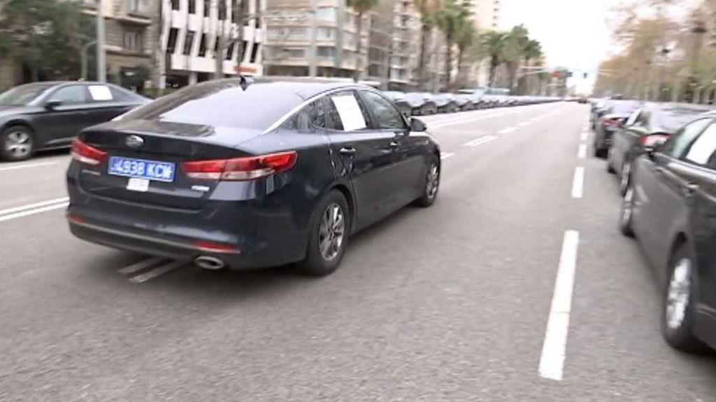 Uber y Cabify echan el cierre en Cataluña
