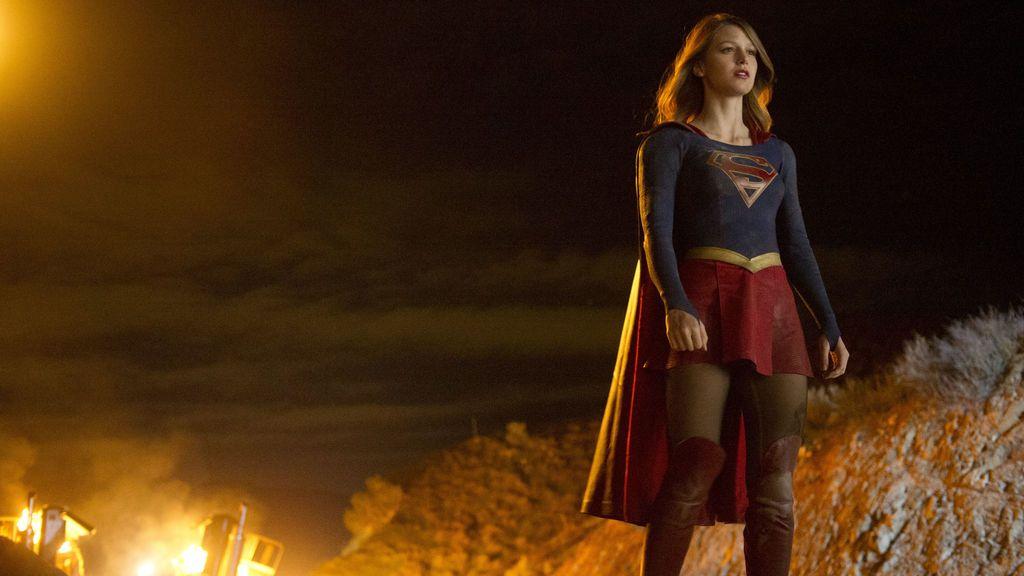 Melissa Benoist, la actriz protagonista de 'Supergirl'.