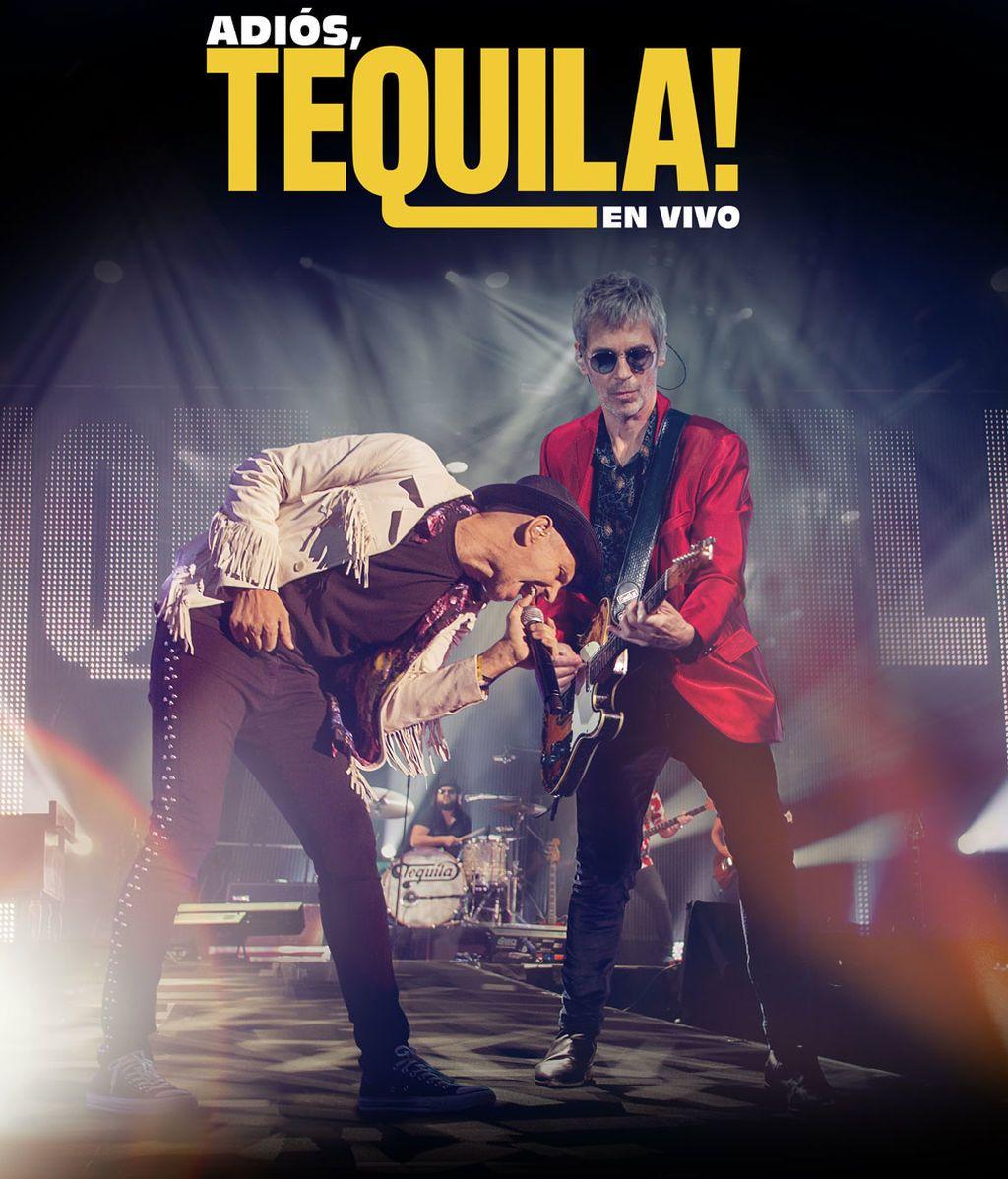Ya a la venta 'Adiós Tequila!' el doble CD y DVD que recoge el mítico concierto