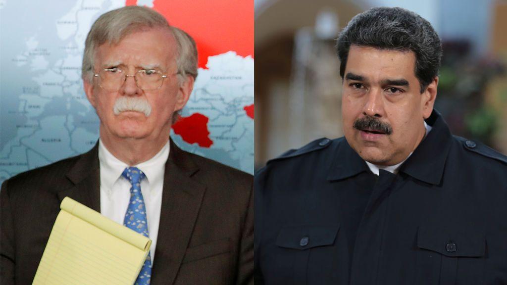 ¿Maduro a Guatánamo?: la broma de John Bolton que hiela la sonrisa al presidente de Venezuela