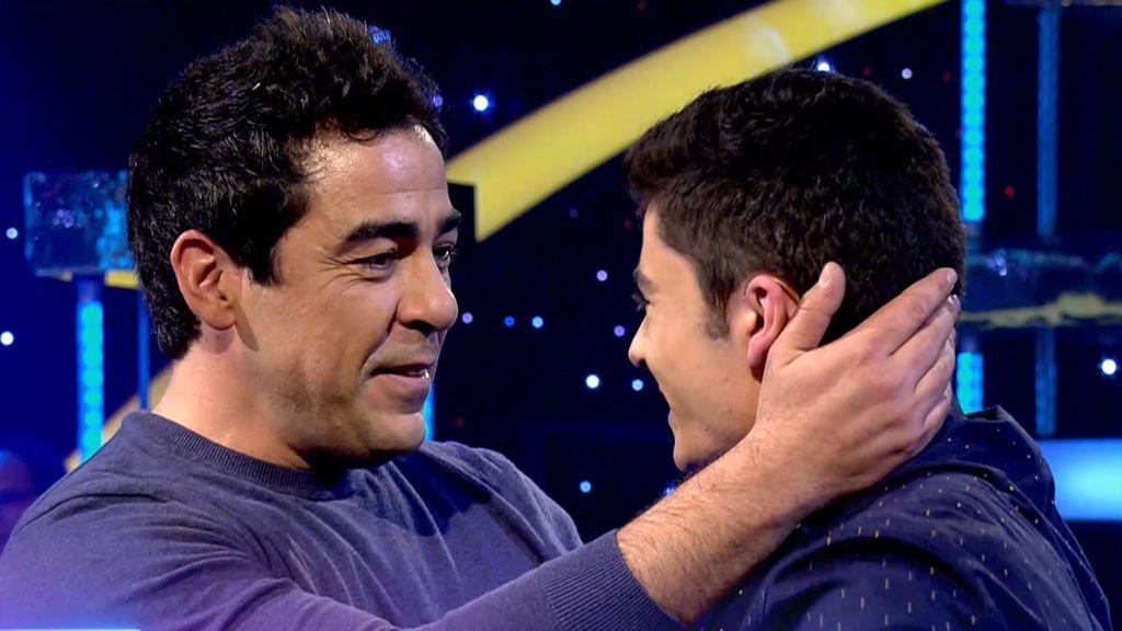 """David conoce a Pablo Chiapella, su ídolo: """"Cuando tenía un día duro, llegaba a casa y me ponía La que se avecina"""""""