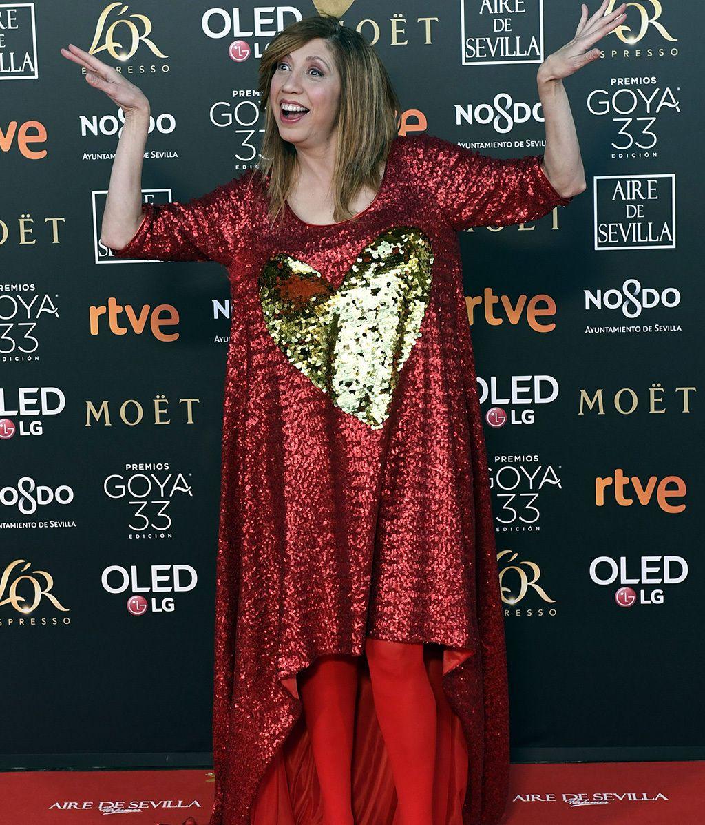 La alfombra roja de los Goya 2019, foto a foto