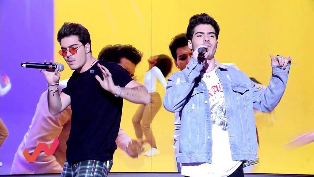 'Gemeliers' arrasan en 'Viva la vida' con su single 'Ella es de las mías'